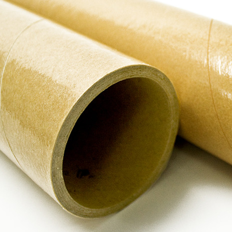 Paper cores with PE, cellulose film or silicone surfaces